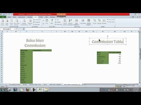 Excel Project Salesman Performance Appraisal # 6