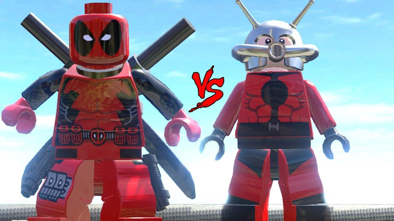 Deadpool 30 Superhéroes: DEADPOOL VS ANT-MAN -(LEGO MARVEL SUPER HEROES)- EPIC