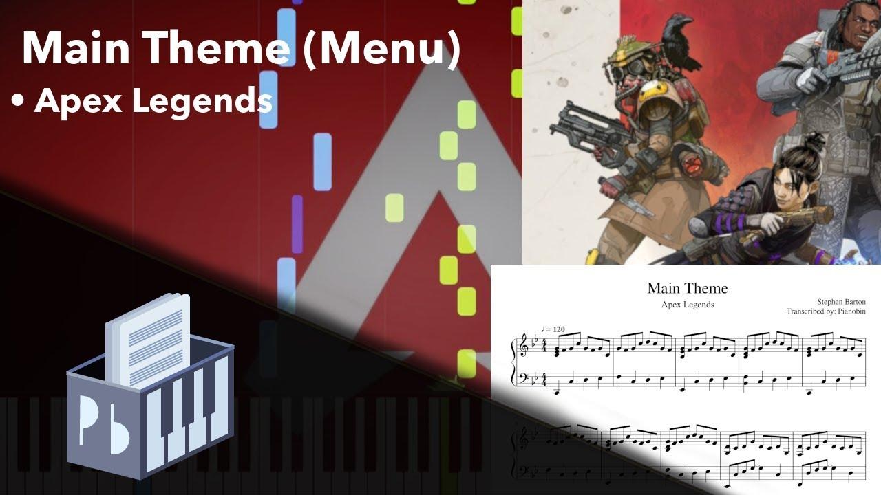 Main Theme - Apex Legends OST (Piano Tutorial) - YouTube