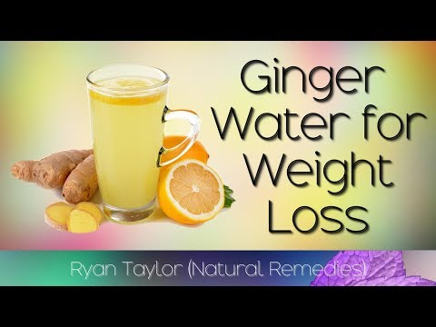 Ginger Water: for Weight Loss