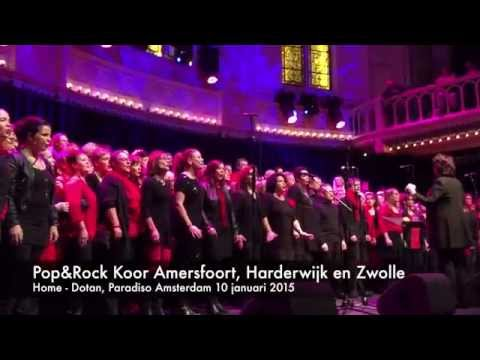 Pop & Rock Koor HOME - Dotan Cover Paradiso 10-01-2015
