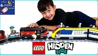Lego Ghost Express Train Crash & Lego City High Speed Train | Trains For Kids