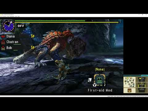 MHXX - Citra [Gameplay] [4K] [60FPS] - YouTube
