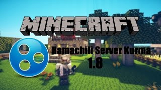 Minecraft Hamachili Server Kurma - 1.8