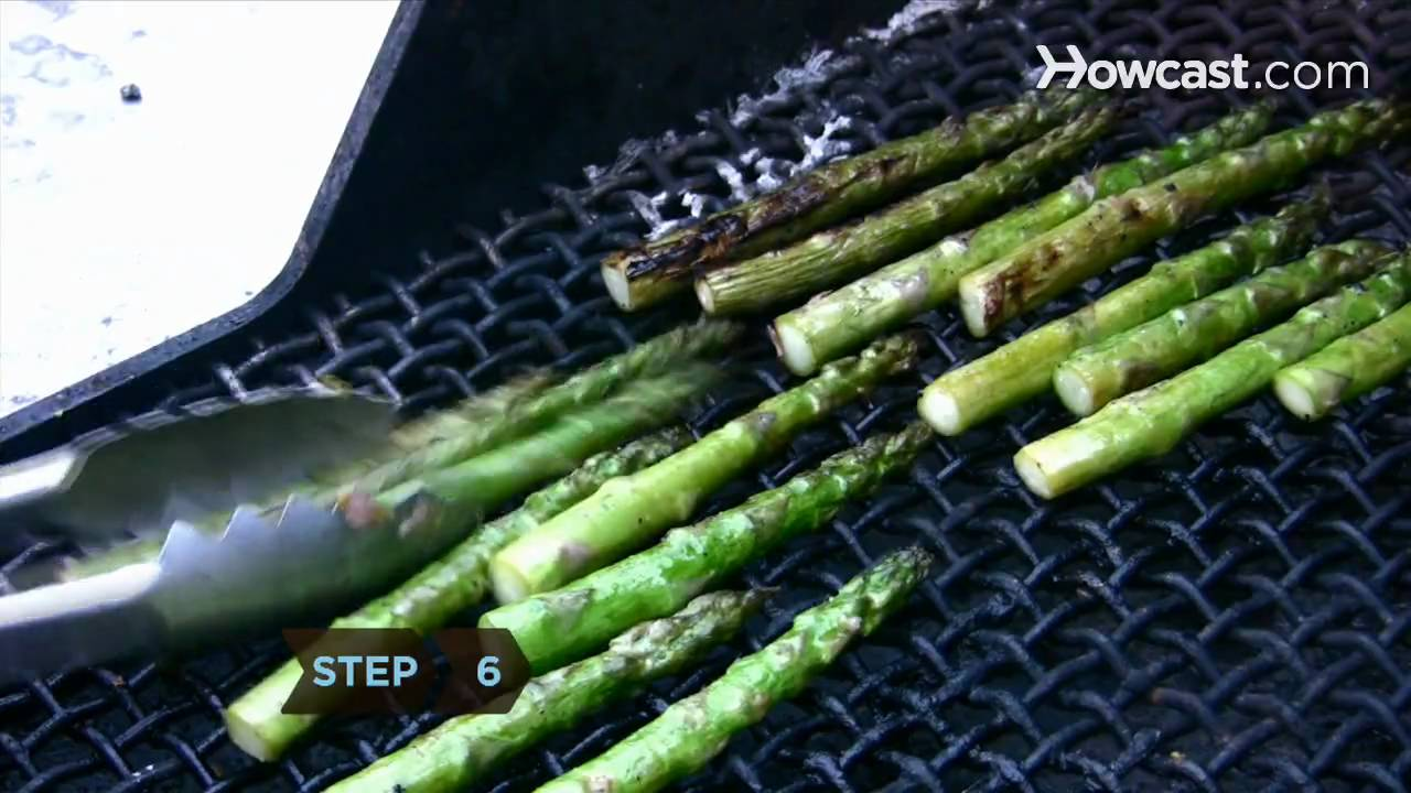 How To Make Grilled Asparagus