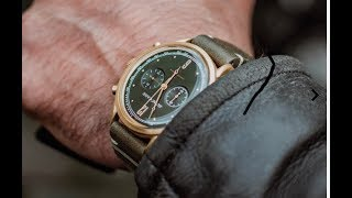 James McCabe Heritage Chronograph Watch Review