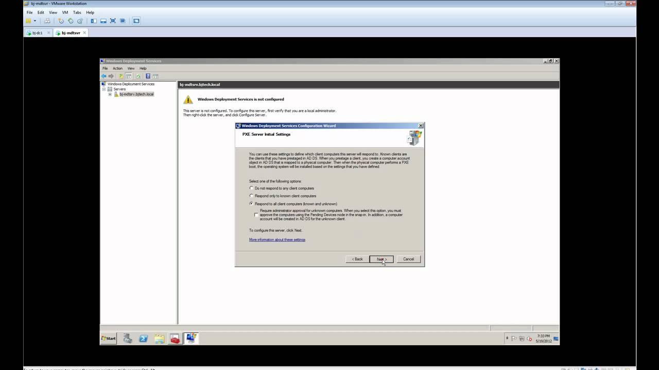 Episode 11 - MDT 2012 and WDS Configuration   BTNHD