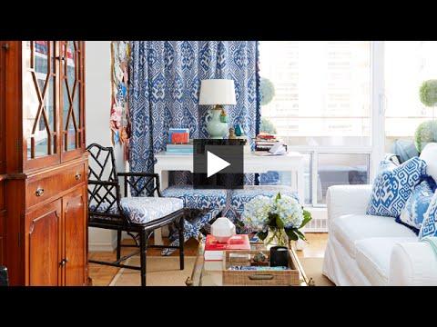 Interior Design How To Decorate A Bright Colourful Small Studio Apartment Youtube
