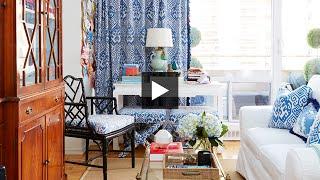 Interior Design — How To Decorate A Bright & Colourful Small Studio Apartment