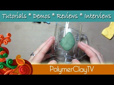 How to attach polymer clay to glass, tile, coffee mugs, glues and connections