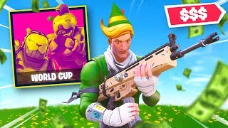 How We Won $$$ Playing Fortnite... (World Cup)