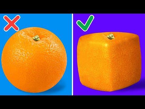 24 INCREDIBLY SIMPLE FOOD HACKS