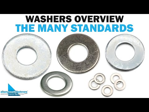 The Many Standards Of Flat Washers | Military, NAS, AN, SAE, USS | Fasteners 101