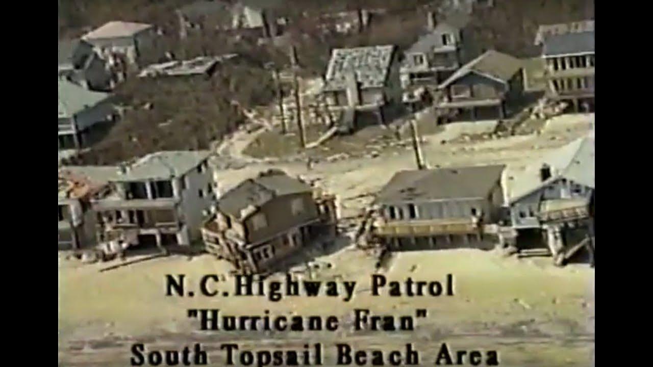 [VHS] Hurricane Fran Coastal Destruction Video (North Carolina Highway  Patrol)