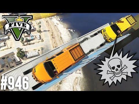 Ich habe doch NICHTS gemacht - Abenteuer Parkour (+Download)| GTA 5 - Custom Map Rennen