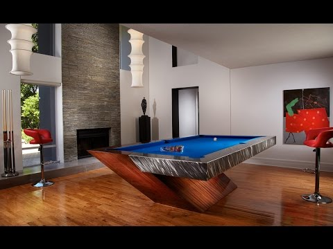 12 coolest custom pool tables in the world