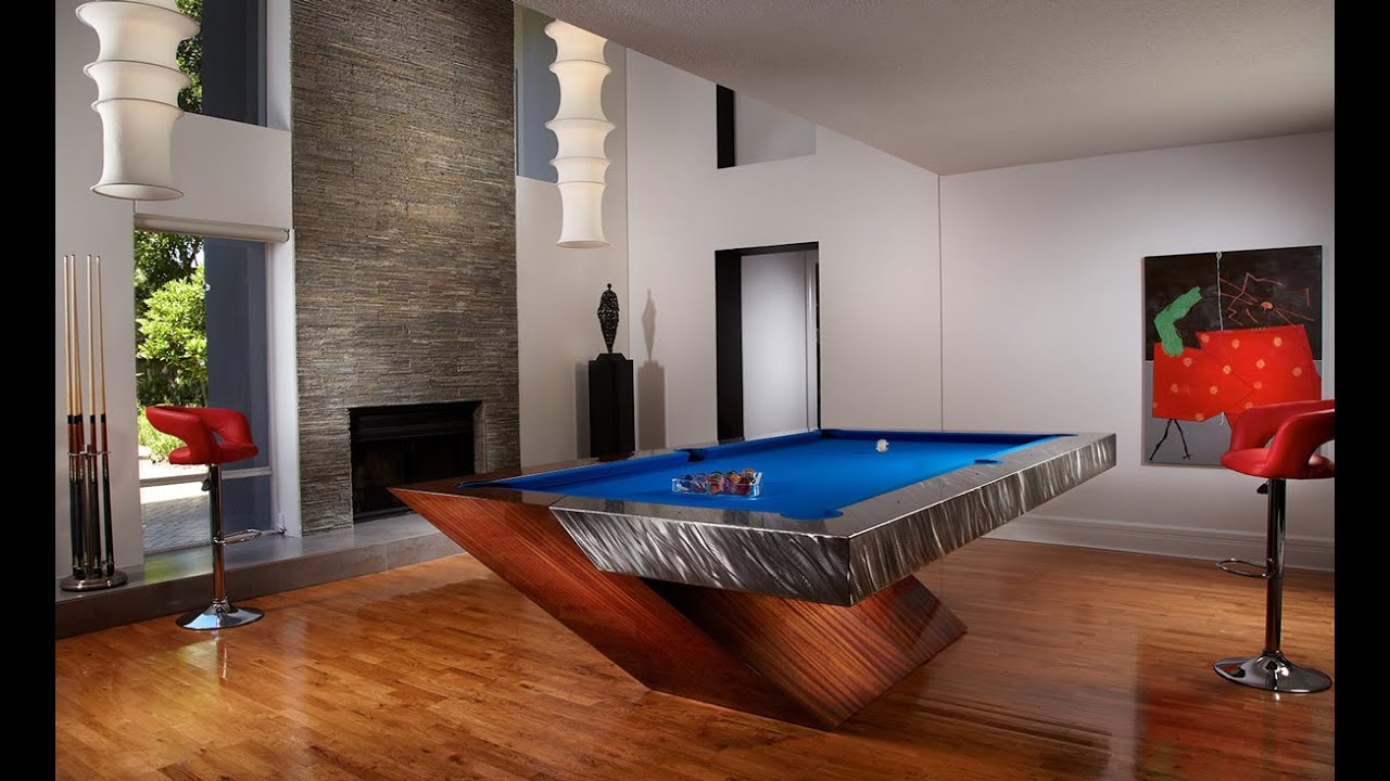 12 Coolest Custom Pool Tables In The World Youtube