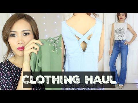 Clothing Haul [ Try On ] | เปิดถุงช้อป แฟชั่น เสื้อผ้า