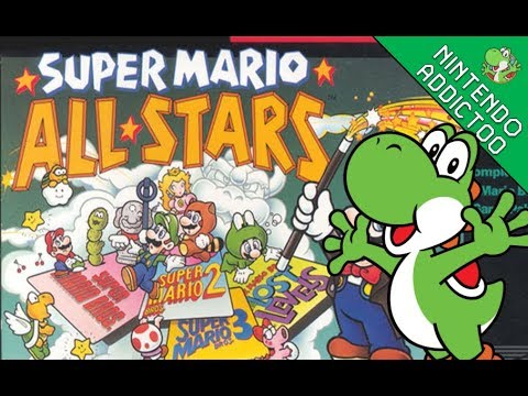Super Mario All-Stars | All Games 100% | Live Playthrough