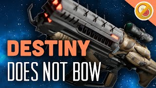 DESTINY Does Not Bow Legendary Auto Rifle Review (The Taken King)
