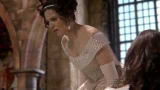 "Once Upon A Time 1x18 ""The Stable Boy"" Regina finds out Snow revealed her secret to Cora"