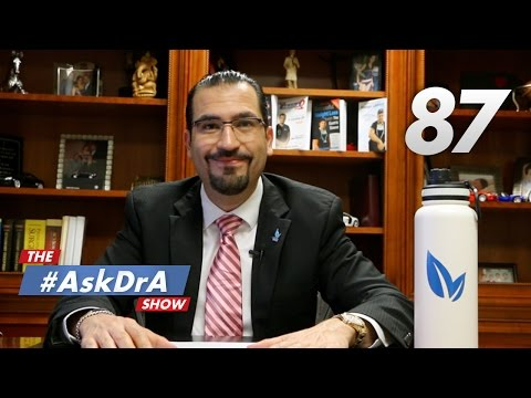 The #AskDrA Show | Episode 87 | Artificial Sweeteners, Feeling Lightheaded and Protein