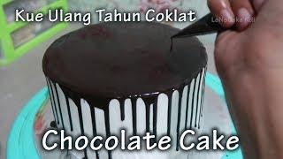 Download Video Kue Ulang Tahun Coklat 😍 Dekorasi Kue Ultah Anak Anak - Cake Tart Sederhana by LeNsCake Kdi MP3 3GP MP4