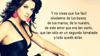 Repeat youtube video Maite Perroni - Tú y Yo (Video con Letra)