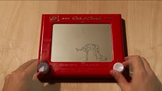 Etch-a-Sketch Stop Motion Dance
