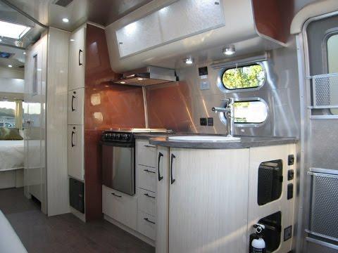 Original 2016 Airstream International Serenity 30W Travel Trailer Solar Powered   FunnyDog.TV