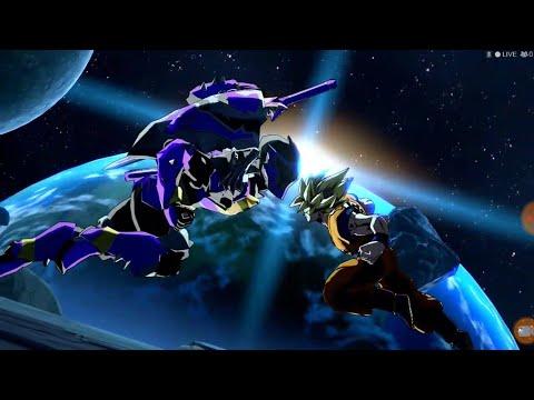 (DBFZ) Power Rangers Fighter Z: Goku Vs Koragg (Dramatic Finish)