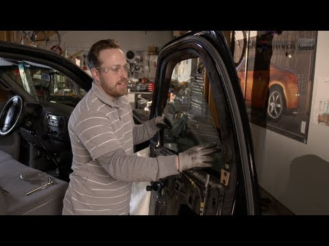 How to Replace Broken Side Glass