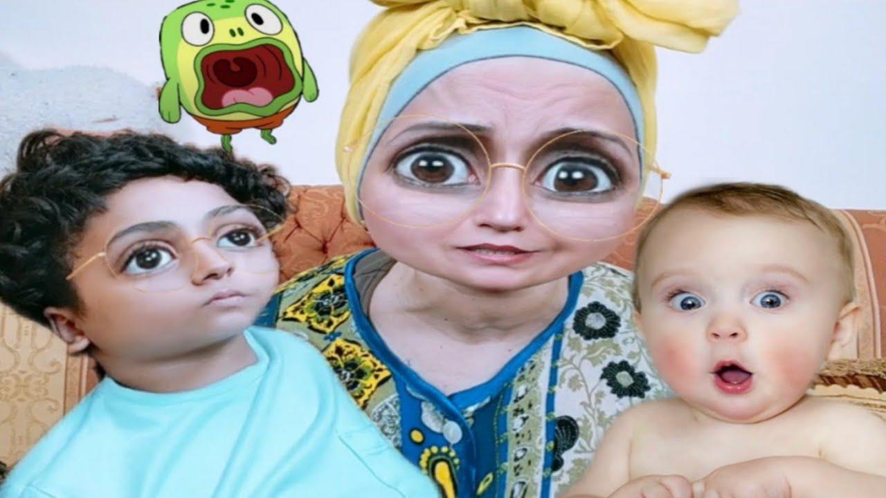لما ابنك........مايرضاش ينزل من بطنك😳🤔يوميات عيلة ملسوعة جدا!! عيلة ملسوعة جدا