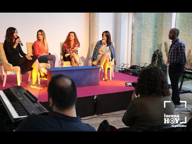 VÍDEO: Cuatro actrices hablan sobre mujeres y series de televisión en Crossover Lucena