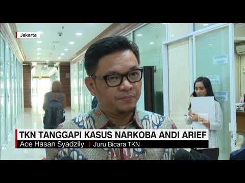 Andi Arief Terjerat Narkoba, Ini Tanggapan TKN Jokowi-Ma'ruf