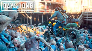 Days Gone   TAK NG ON THE B GGEST HORDES  Days Gone Free Roam Gameplay 14