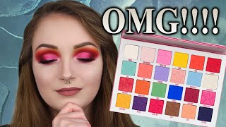 MY PALETTE OBSESSION | JEFFREE STAR COSMETICS JAWBREAKER PALETTE TUTORIAL