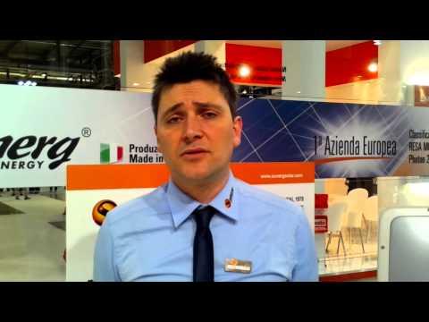 Live Solarexpo 2013 - Intervista Sunerg Solar Energy