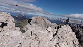 24. September 2018 - Video - Klettersteig Sass Rigais, 3025 m, Gröden, Südtirol / Dolomiten (HD)