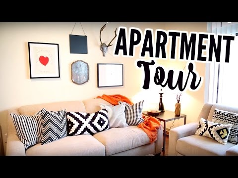 MY FIRST APARTMENT TOUR!  + I Rented my Furniture from CORT FURNITURE
