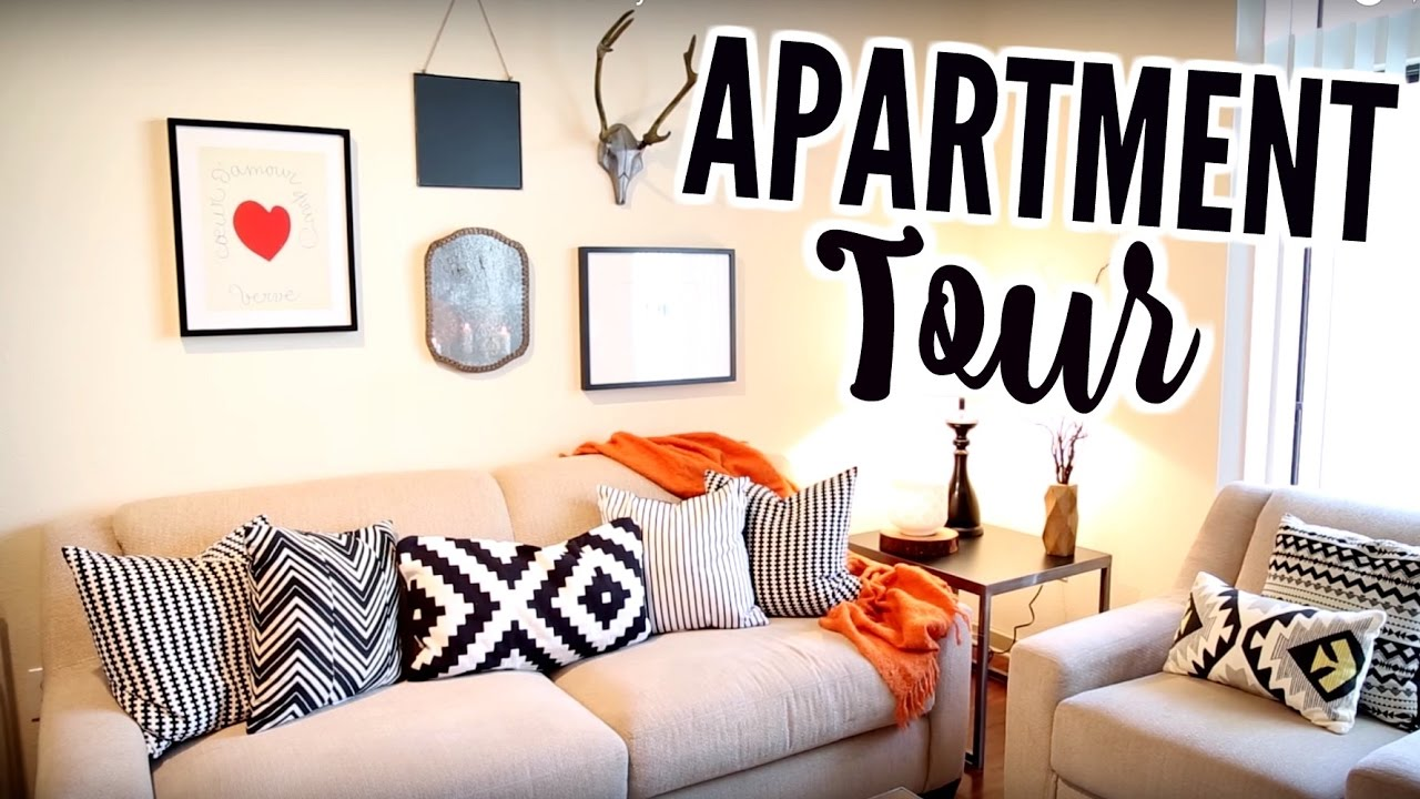 My First Apartment Tour I Ed Furniture From Cort