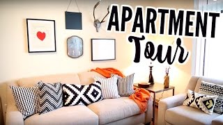 My First Apartment Tour!    I Rented My Furniture From Cort Furniture