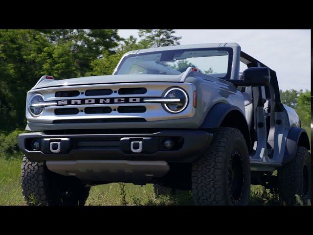 2021 Ford Bronco - Two Door and Four Door Static
