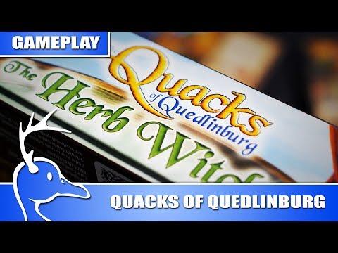 The Quacks Of Quedlinburg - The Herb Witches - (Quackalope Gameplay)