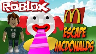 ROBLOX-Escaping from McDonalds-Escape McDonalds Obby
