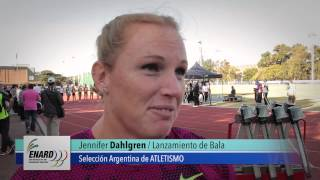 #Toronto2015 Atletismo – La palabra de Jennifer Dahlgren (martillo)