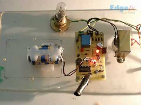 Electronic Eye Controlled Security System | General Electronics Projects