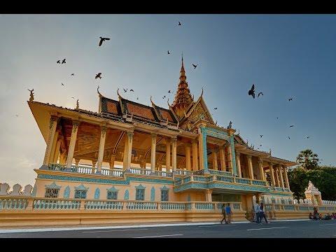 Amazing Royal Palace in Phnom Penh, Cambodia