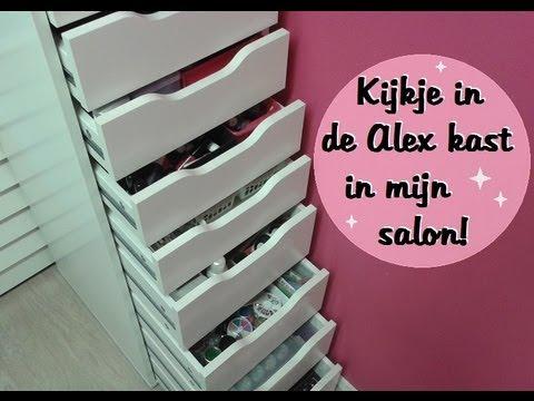 Kijkje In De Alex Kast In Mijn Salon Nailart En Acryl