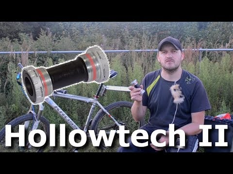 Каретка типа Hollowtech II - стоит установить